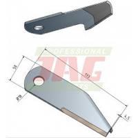 Нож измельчителя соломы MWS 87031876 87031876 NEW HOLLAND