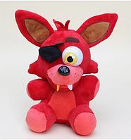 Мягкая фирменная оригинальная игрушка Фокси 27 см. 5 ночей с Фредди Аниматроники. Фнаф, фото 1