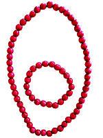 Ожерелье мелкое детское (Украинская бижутерия)