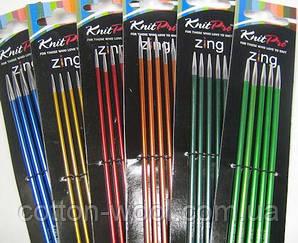 Спицы носочные 15 см Zing KnitPro,  2.25 мм