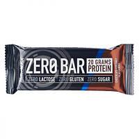 Протеиновый Батончик ZERO Bar, Вкус Шоколада и Кокоса, BiotechUSA, 50 гр
