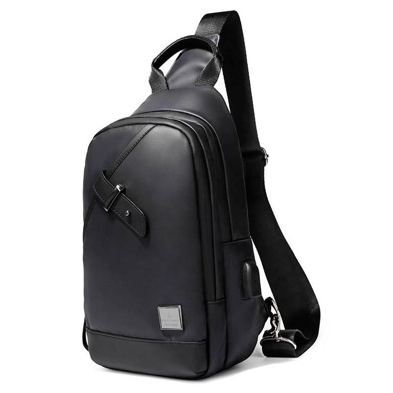 Однолямочный городской рюкзак-барсетка Arctic Hunter XB00089, влагозащищённый, 5л