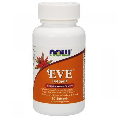 Мультивитамины для Женщин Eve, Now Foods, 90 желатиновых капсул