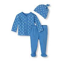 Детский трикотажный комплект для мальчика  6-9 месяцев
