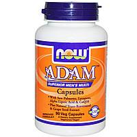 Супер Мультивитамины для Мужчин, Adam, Now Foods, 90 гелевых капсул