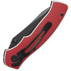 Нож складной 194 мм, ручка с металлическими вставками. INTERTOOL HT-0595, фото 3