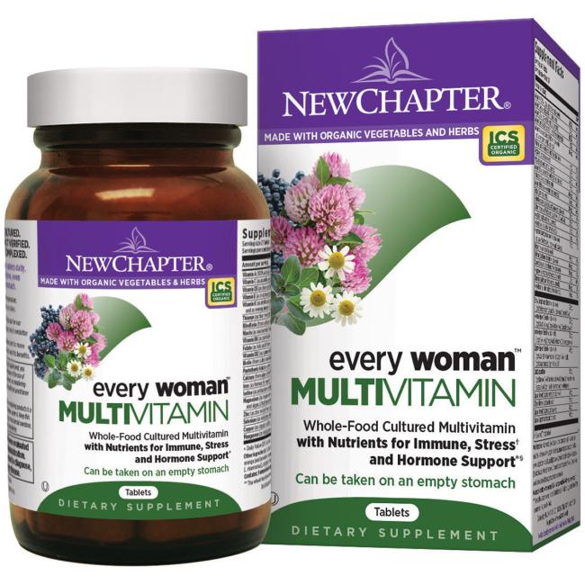 Мультивитамины для Женщин, Every Woman, New Chapter, 48 таблеток