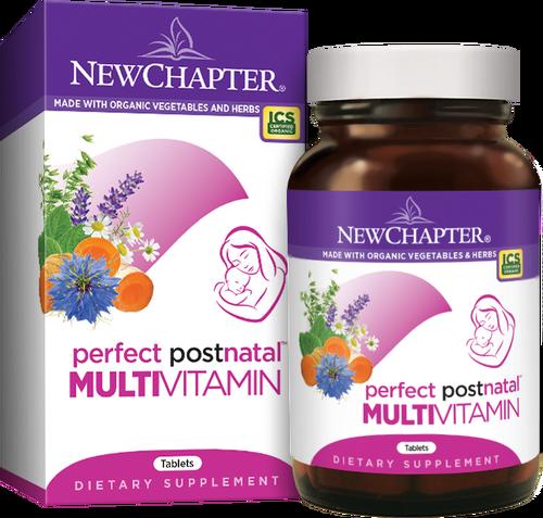Мультивитамины для Женщин в Послеродовой Период, Perfect Postnatal, New Chapter, 96 таблеток