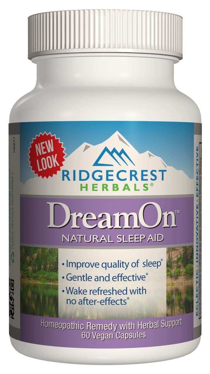 Природный Комплекс для Здорового Сна, DreamOn, RidgeCrest Herbals, 60 гелевых капсул