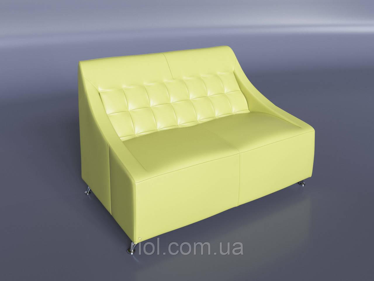Офисный диван Полис светло-зеленый