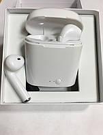 Беспроводные Наушники I7S TWS Bluetooth Airpods Iphone, фото 1