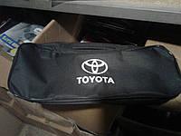 Сумка автомобильная с логотипом Тойота черная 53х13х19, 2 отделения Beltex , фото 1