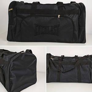 Мужская черная спортивная сумка 62*34*30 см