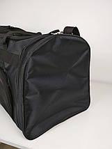 Мужская черная спортивная сумка 62*34*30 см, фото 3