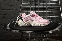 """Женские кроссовки Nike M2K Tekno """"Pink"""", Найк Техно, жіночі кросівки, Реплика, фото 1"""