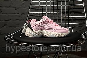 """Жіночі кросівки Nike M2K Tekno """"Pink"""", Найк Техно, жіночі кросівки, Репліка"""