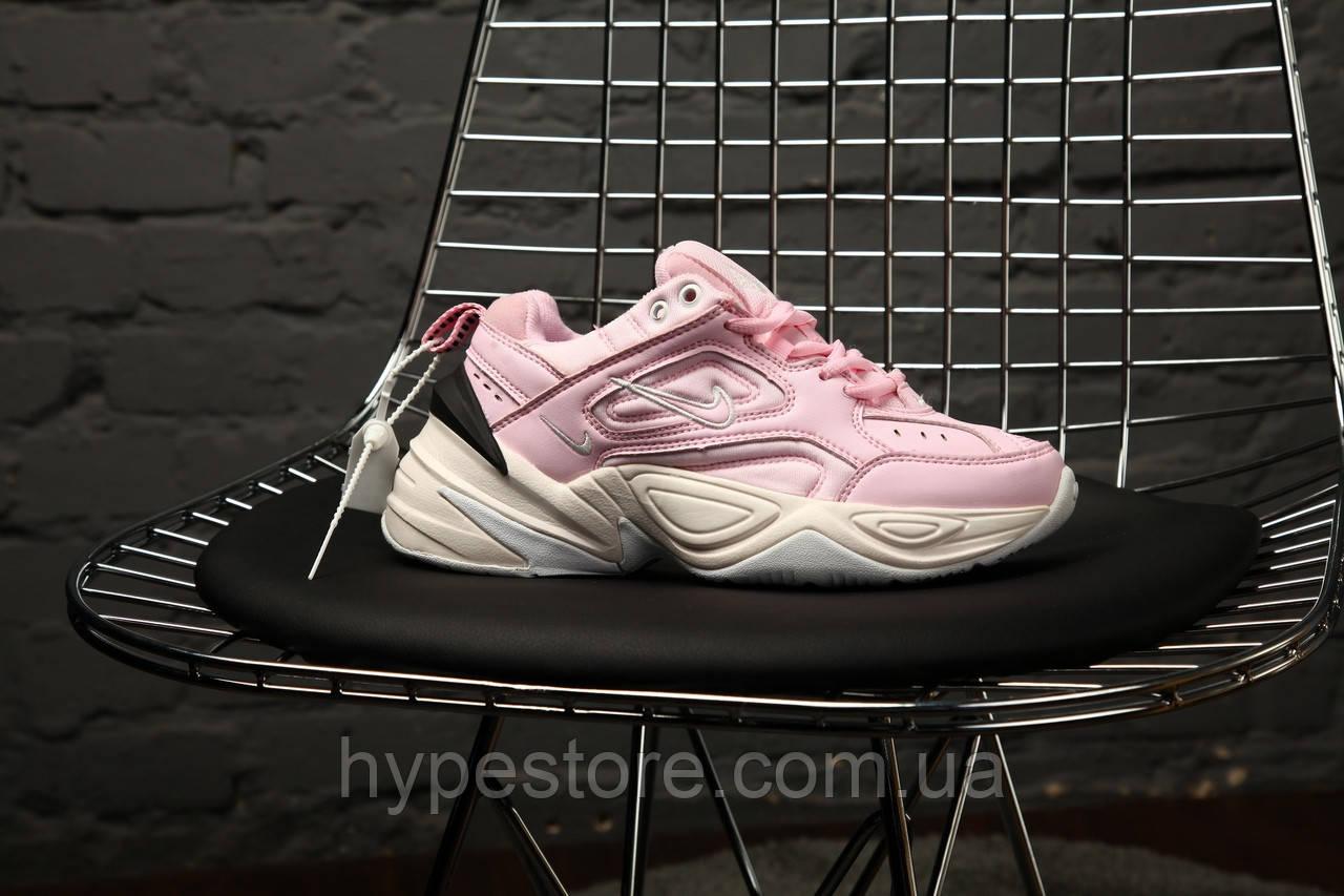 """Женские кроссовки Nike M2K Tekno """"Pink"""", Найк Техно, жіночі кросівки, Реплика"""