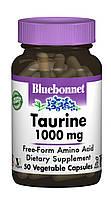 Таурин 1000мг, Bluebonnet Nutrition, 50 гелевых капсул