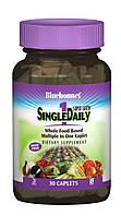 Мультивітаміни без заліза, Single Daily, Bluebonnet Nutrition, 30 капусл