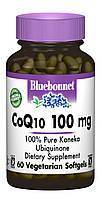 Коэнзим Q10 100мг, Bluebonnet Nutrition, 60 желатиновых капсул