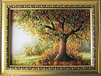 Картина из янтаря Дерево (Картины и иконы из янтаря)