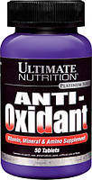 Витамины, Минералы и Амино Добавки, Anti-Oxidant, Ultimate Nutrition, 50 таблеток