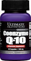 Коэнзим Q10 100мг, Ultimate Nutrition, 30 капсул