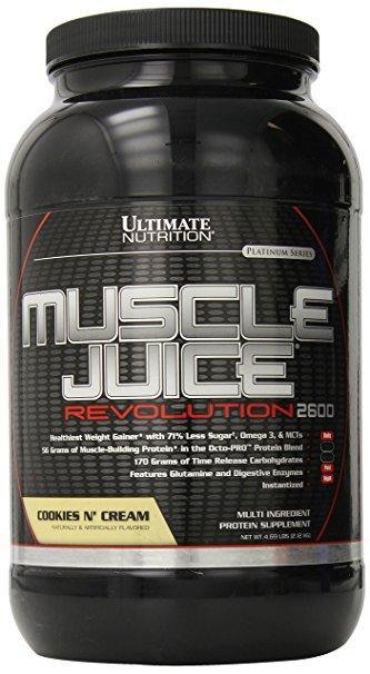 Гейнер, Печенье-Крем, Muscle Juice Revolution, Ultimate Nutrition, 4.69 фунта (2.3кг)