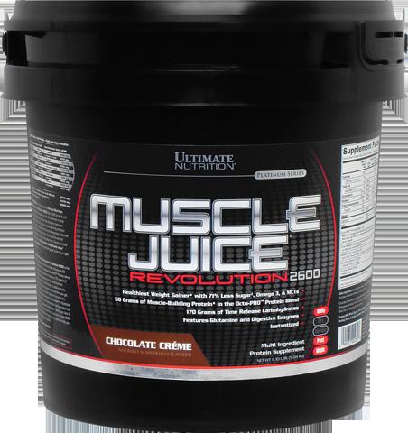 Гейнер, Шоколад, Muscle Juice Revolution, Ultimate Nutrition, (11.1 фунт (5 кг)