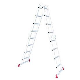 Лестница алюминиевая мультифункциональная трансформер INTERTOOL LT-0029