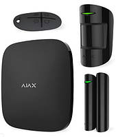 Ajax StarterKit Plus Original – Комплект беспроводной сигнализации с централью второго поколения – черный