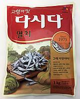 Бульон Дашида со вкусом анчоуса Dasida Anchovy Soup Stock Cheiljedang 1000 г, фото 1