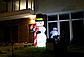 Надувной Снеговик Гигант Новогодняя скульптура с led подсветкой  Высота 5 м., фото 4