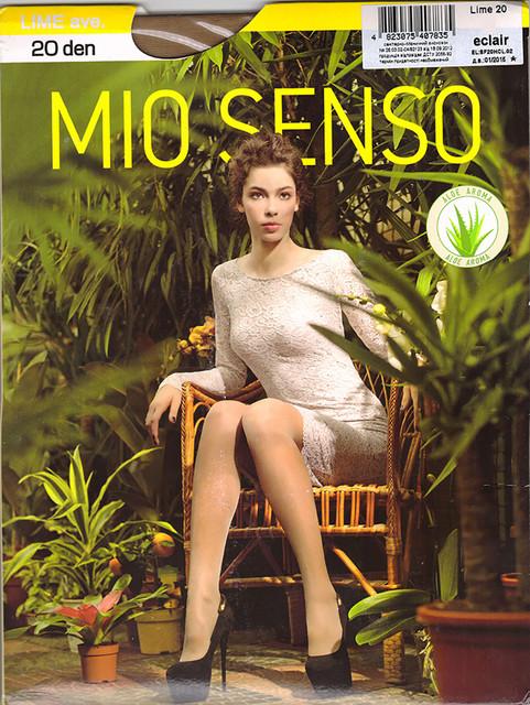 Колготки Mio Senso Lime 20