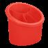 Підставка для столових приборів пластикова овальна| Алеана