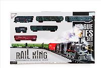 Большая детская железная дорога Rail King KP2421 длина 7 метров!