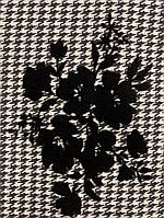 Ткань тиар клетка флок