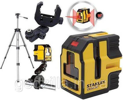 Профессиональный лазер STANLEY CROSS 90