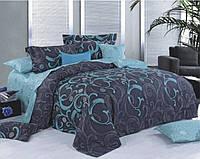 Комплект постельного белья Уютная Жизнь Полуторный 150x215 Изумруд