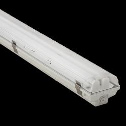 Комплект Светильник аварийный 1х36Вт IP65 1,2м люминесцентный с аварийным блоком 3ч + с лампами