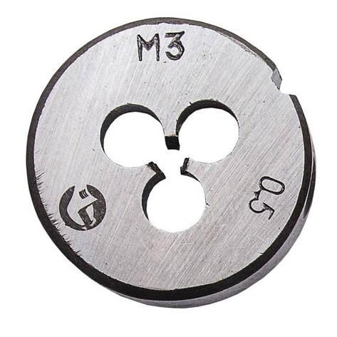 Плашка M 6x1,0 мм INTERTOOL SD-8217, фото 2