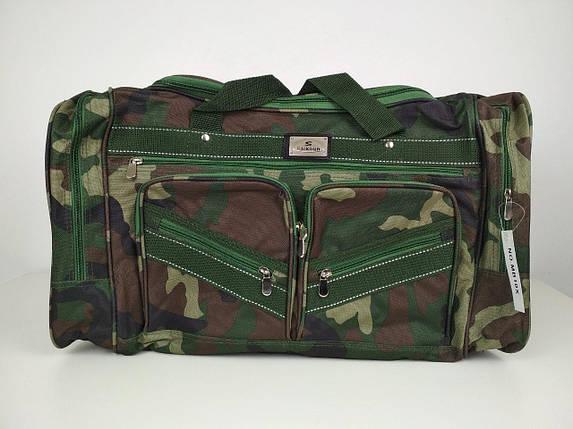 Текстильная мужская сумка камуфляж  65*35*30 см, фото 2
