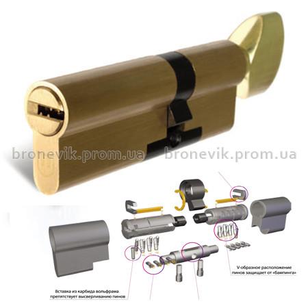 Цилиндр замка Шерлок HK 70 (40Тх30)-T-BR