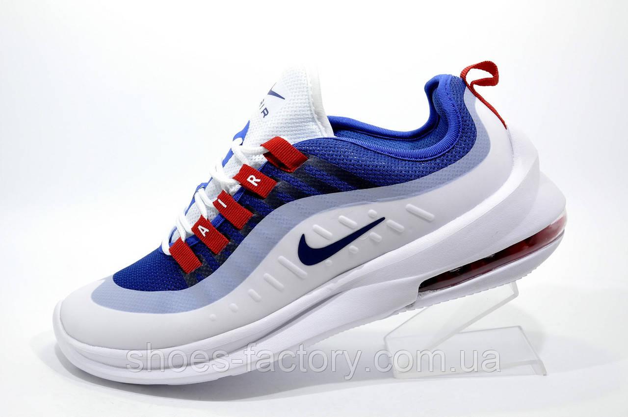 c4ba0888 Мужские кроссовки в стиле Nike Air Max Axis 2019, White\Blue - Интернет  магазин
