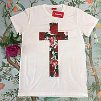 Женская футболка в стиле Supreme | Годный шмот