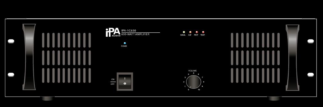 Одноканальный усилитель мощности IPA AUDIO IPA-1C650