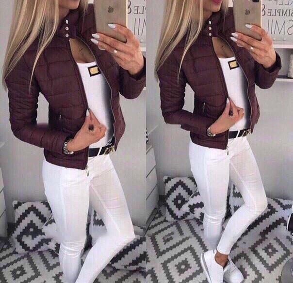 Женская стильная куртка ДИ0026