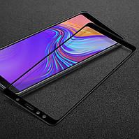 Защитное стекло для Samsung A750 / A7 2018 Full cover черный 0,26 мм в упаковке