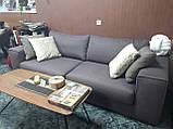 Раскладной коричневый диван MANHATTAN 250 см ALBERTA (Италия) бесплатная доставка, фото 2