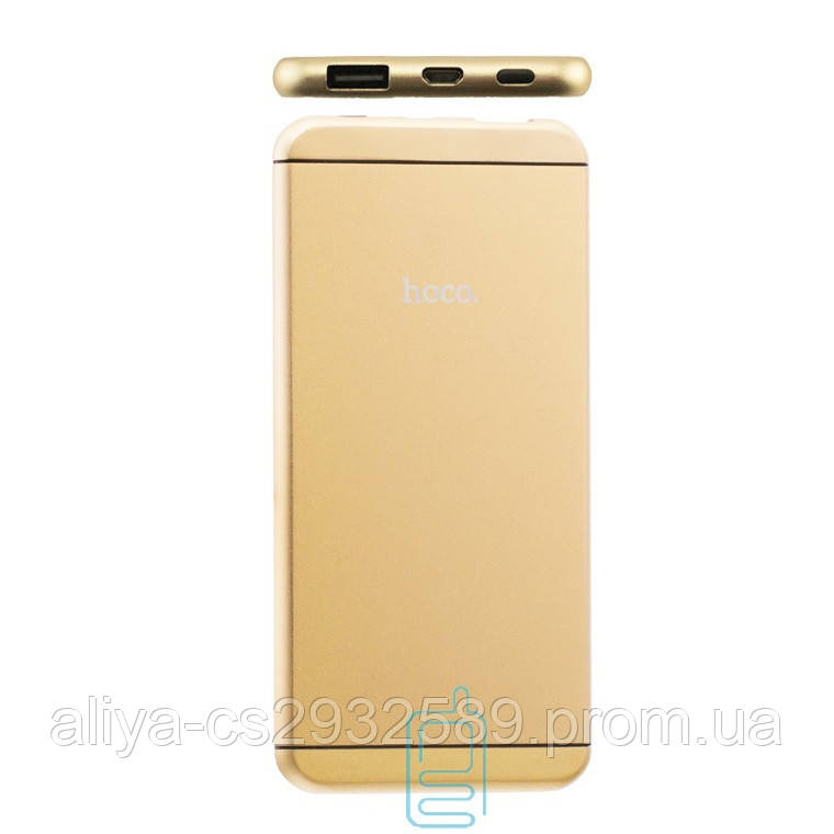 Power Bank Hoco UPB03 16 6000 mAh Original золотистый